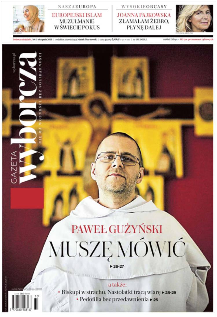 Portada de Gazeta Wyborcza (Polonia)