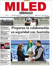 Portada de Miled - Hidalgo (Mexique)