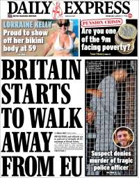 Portada de Daily Express (United Kingdom)