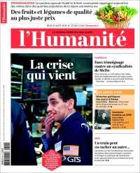 Portada de l'Humanite (Francia)