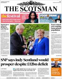Portada de The Scotsman (United Kingdom)