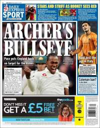 Portada de Express Sport (United Kingdom)