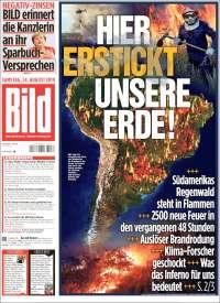 Portada de Bild (Germany)