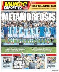 Portada de Mundo Deportivo Gipuzkoa (España)