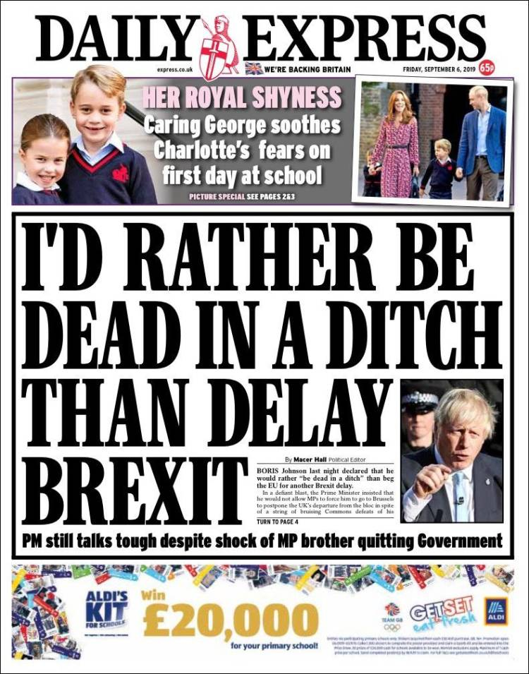 Newspaper Daily Express (United Kingdom)  Newspapers in