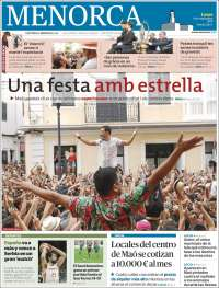 Portada de Menorca - Diario Insular (España)