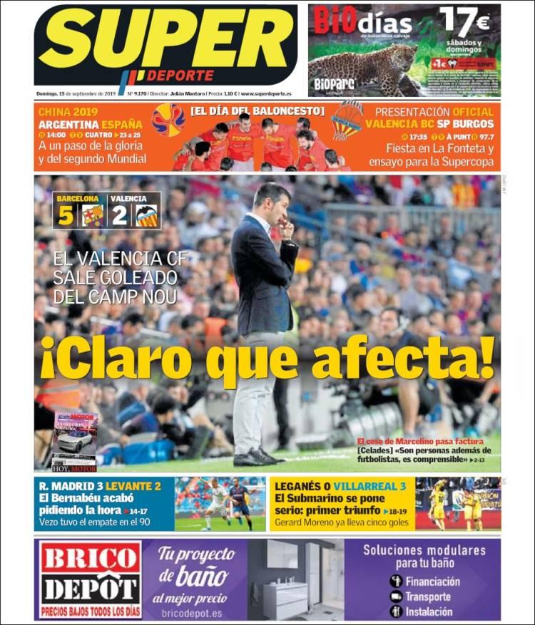Portada de Superdeporte (Spain)