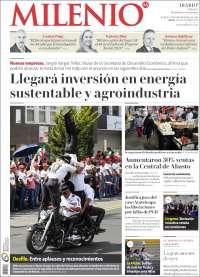Portada de Milenio de Hidalgo (Mexico)