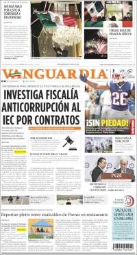 Portada de Vanguardia (Mexico)