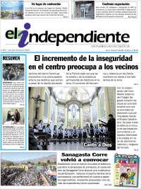 Portada de El Independiente (Argentine)