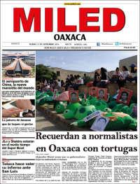 Portada de Miled - Oaxaca (Mexico)