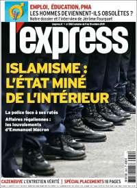 Portada de L'Express (France)