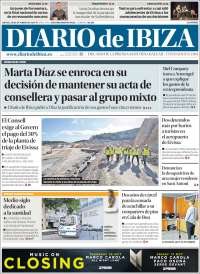Portada de Diario de Ibiza (España)