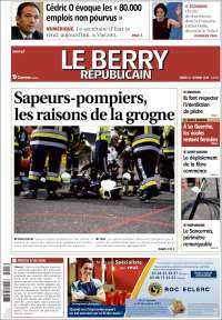 Portada de Berry Republicain (France)