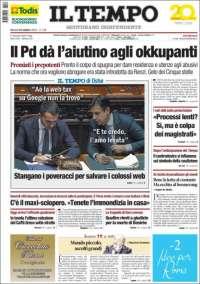 Portada de Il Tempo (Italie)
