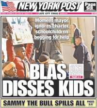 Portada de New York Post (États-Unis)