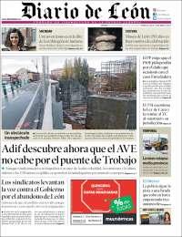 Portada de Diario de León (Spain)