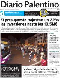 Portada de Diario Palentino (Spain)