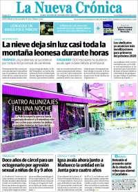 Portada de La Nueva Crónica (Spain)