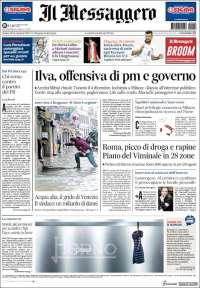 Portada de Il Messaggero (Italy)