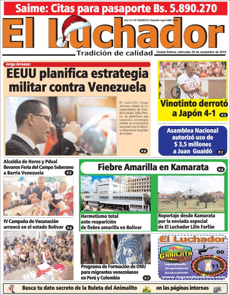 Diario El Luchador de Bolívar