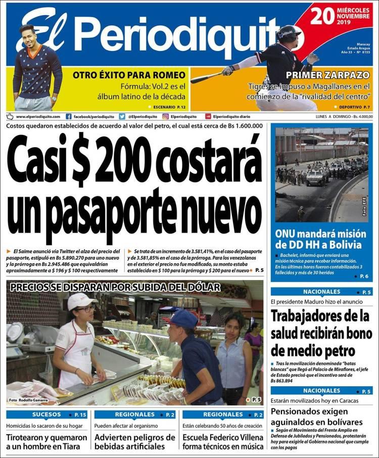 Diario El Periodiquito de Aragua