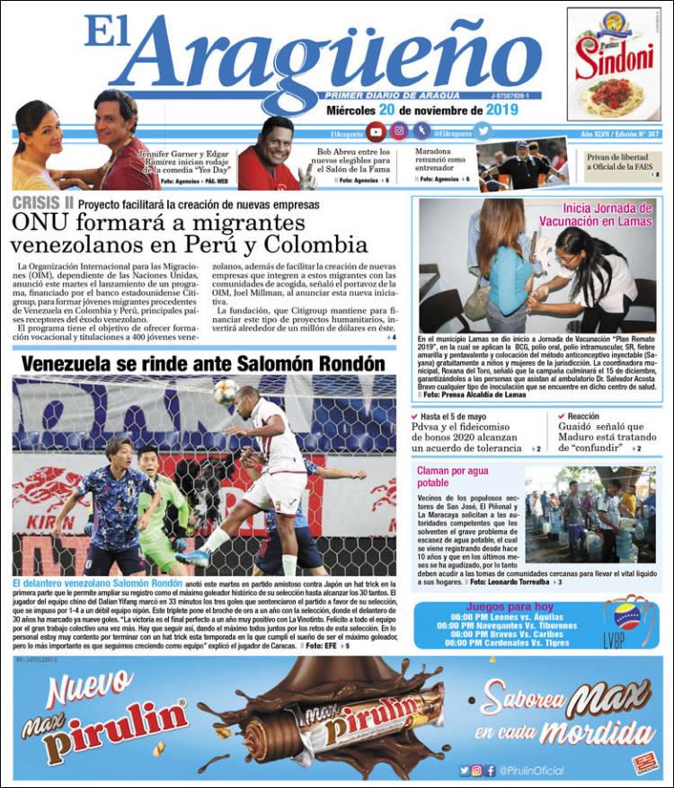 Diario El Aragueño