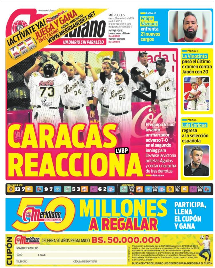 Diario Deportivo Meridiano