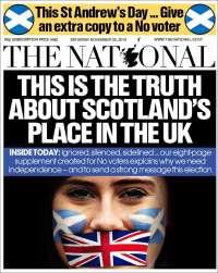 Portada de The National (United Kingdom)