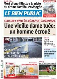 Portada de Le Bien Public (Francia)