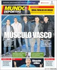 Portada de Mundo Deportivo Gipuzkoa (Spain)