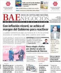 Portada de Buenos Aires Económico (Argentine)