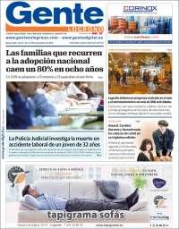 Portada de Gente en Logroño (Espagne)