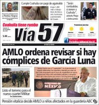 Portada de Via57 (Mexique)