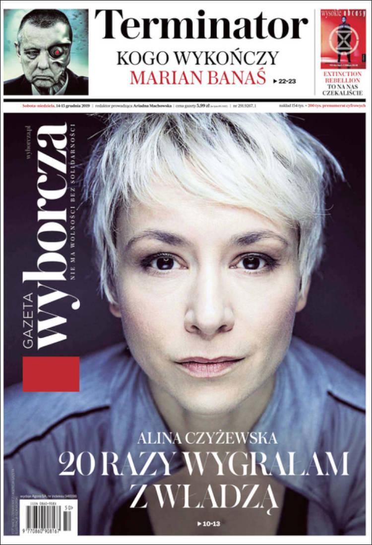 Portada de Gazeta Wyborcza (Poland)