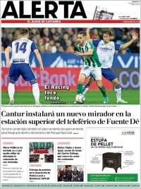 Portada de Alerta - El Diario de Cantabria (Spain)