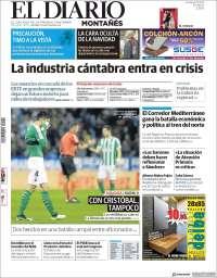 Portada de El Diario Montañés (Spain)