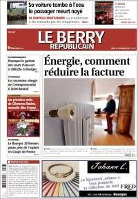Portada de Berry Republicain (France)