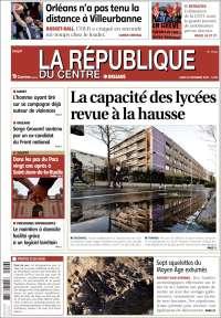Portada de La République du Centre (France)