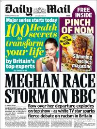Portada de Daily Mail (United Kingdom)