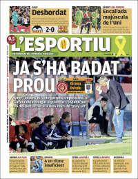 Portada de L'Esportiu : Girona (España)