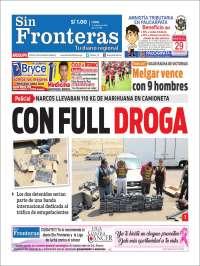 Portada de Diario Sin Fronteras (Perú)