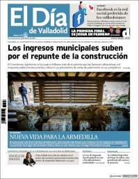 Portada de El Día de Valladolid (Spain)