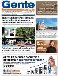 Gente en Logroño
