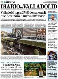 Portada de Diario de Valladolid (Spain)