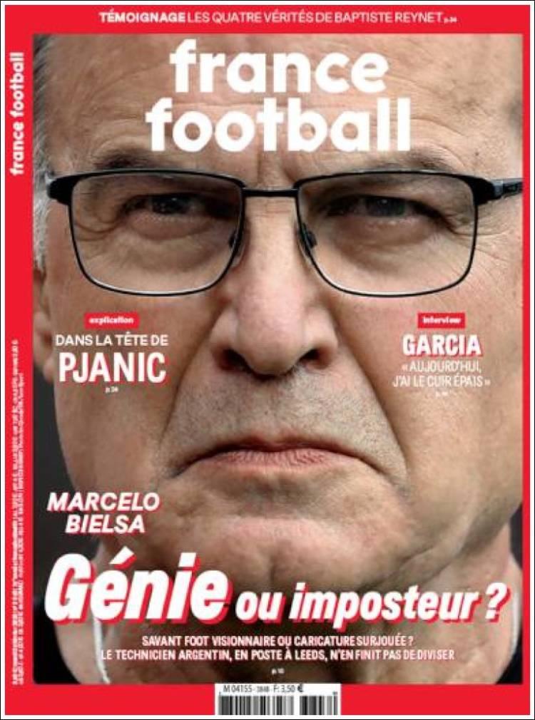Portada de France Football (Francia)