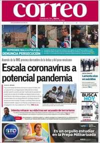 Portada de Correo - El diario del Estado de Guanajuato (México)