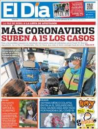 Portada de El Día (Bolivia)