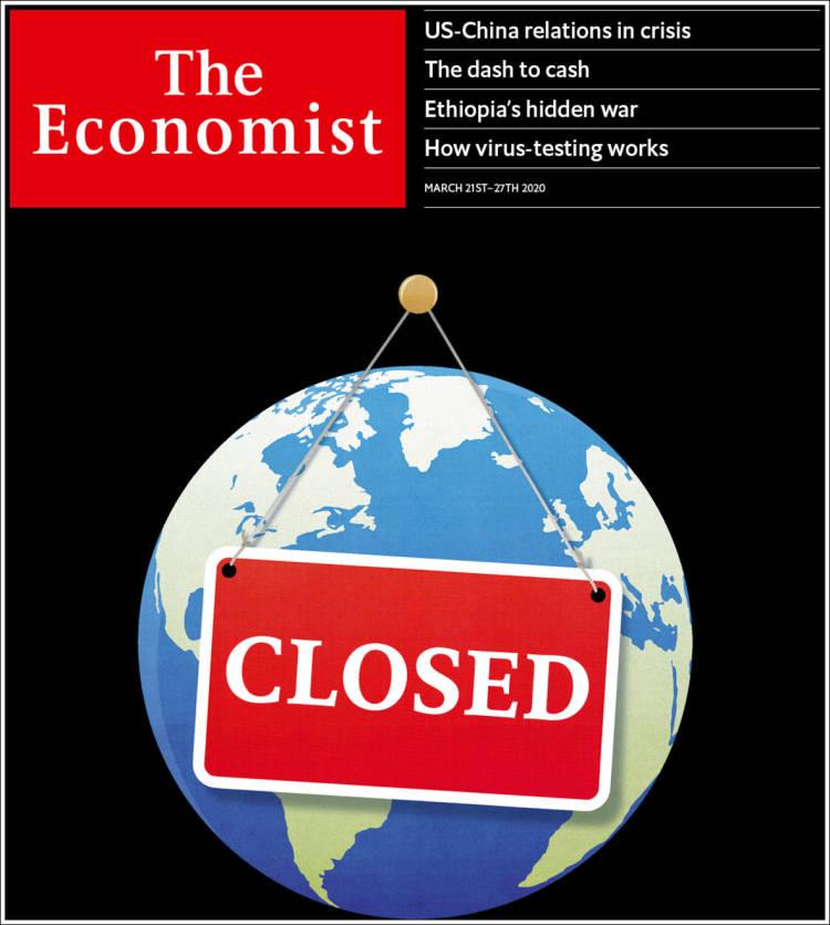 Periódico The Economist (Reino Unido). Periódicos De Reino