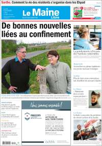 Portada de Le Maine Libre (Francia)